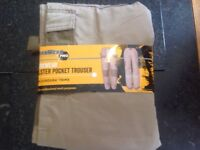 """Holster Pocket Trousers 34""""x31"""" NEW"""