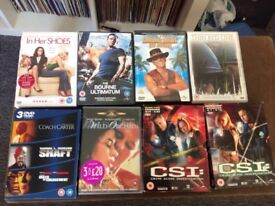 200+ DVDs (unsorted )