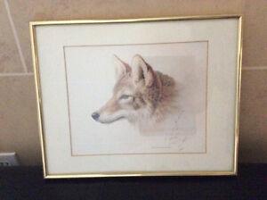 Michael Dumas' Framed Wolf Print