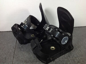 Wombat adjustable snowboard bindings - made in Italy Cambridge Kitchener Area image 3