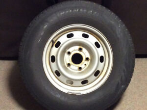 2012 Dodge Ram steel rims and tires