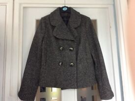 Women's Smart French Connection Coat - Size 14
