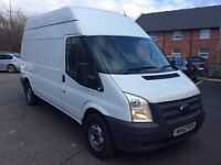 FORD TRANSIT LWB HIGH TOP 2.2 TDCI 62 PLATE