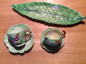Vintage Carlton Ware Pottery Collection