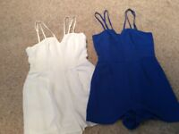 New Look UK Size 10 Playsuits £9 each or both for £15