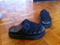 DR MARTENS SANDALS + NIKE SNICKERS: BOTH SIZE 8