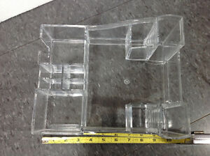 Kaboodles BRAND clear acrylic make up / office supply stand Cambridge Kitchener Area image 3