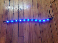LUMIERE LED 50 cm. POUR AQUARIUM/BULLES