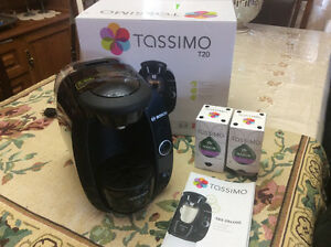 Machine a cafe Tassimo T20 +11 T-cups