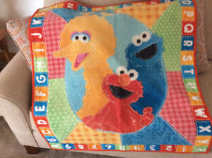 Sesame Street Play Time Quilt