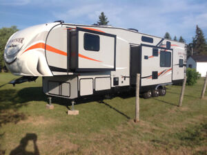 2018 fifth wheel garage sporster 373th12