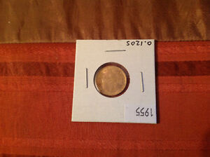 Pièce or 5 pesos 1955 gold 0,1205 oz no tax