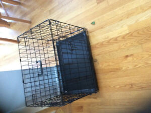 small steel crate