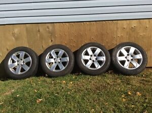 16 in Kia Rims with tires - SOLD!!