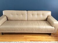 Leather EQ3 Byrd couch