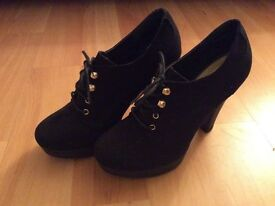 Size 4/5 New Look ankle boots