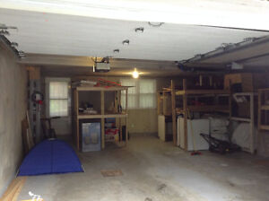 Two indoor garage, very big, good for storage or car