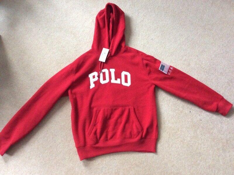 ef567a8ffbaf0 Brand new genuine polo Ralph Lauren hoodie
