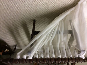 Spring crest curtains and rods