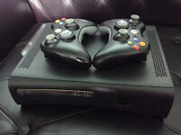 Xbox 360 120GB with tons of games clean well maintained!