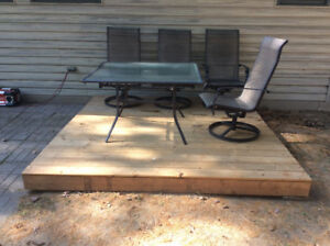 Moveable 8x8 Deck