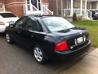 2004 Nissan Sentra in perfect condition , new winter tyres