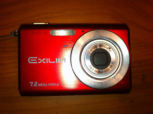Casio Exilim 7.2 Mega Pixel (720p HD camera)