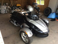 2008 Mint Can Am Spyder with only 5400km