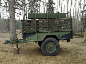 Heavy Duty Military Tailer