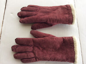 Eatons Lined Gloves + St Michaels Pink Wool Gloves