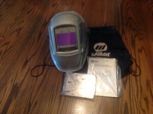 Miller welding shield