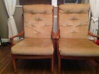 Vintage Parker Knowles Armchair