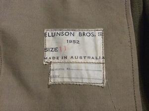 Australian military jacket 1952 authentic Belleville Belleville Area image 2