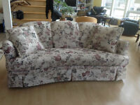 Beautiful Floral Sofa for Sale