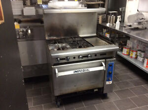Commercial oven and panini machine