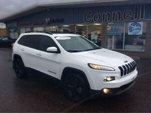 2016 Jeep Cherokee Limited  - Leather Seats -  Bluetooth - $169.