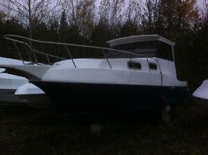 27foot Perkins Turbo diesel trawler sale/trade