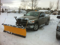 Valley east, Hanmer area snow plow