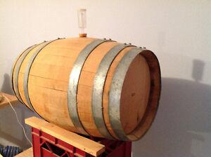 Oak wine barrel 10 gallon