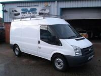 2008 08 FORD TRANSIT MWB MED ROOF 110BHP WITH ULTRA LOW 44000 MILES @ SVS