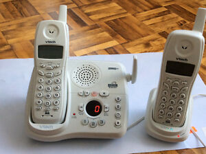 Vtech phone with answering machine and caller ID