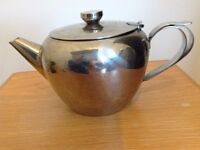 Stainless steel teapot made by Sunnex