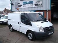 2008 58 FORD TRANSIT SWB 300 2.2 TDCI WITH TWIN SIDE DOORS LOW MILES CHOICE OF D