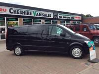 13 MERCEDES-BENZ VITO 2.1 113 CDI TRAVELINER 9 SEATER 136 BHP FMBSH 1 OWNER