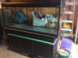 Aquarium 100 gallons with stand and lights