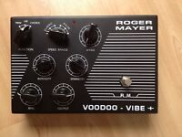Roger Mayer Voodoo Vibe Plus Univibe guitar effect pedal