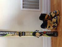 Rossignol ski and boots
