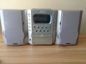 AKAI Mini Stereo System with Remote Control