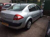 2004 Renault Megane 1.6 Expression VVT-December 16 mot-great family car value