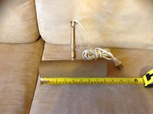 High quality crinkled gold finish picture painting lamp 1 of 2